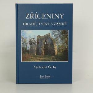 náhled knihy - Zříceniny hradů, tvrzí a zámků. Východní Čechy.