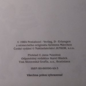 antikvární kniha Kdysi dávno, pradávno : pohádky bratří Grimmů, neuveden