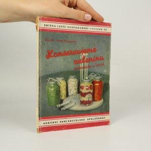 náhled knihy - Konservujeme zeleninu