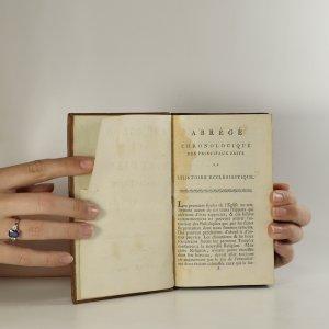 antikvární kniha Abrégé de l'histoire ecclésiastique de Fleury. Traduit de  l'Anglois. (2 díly v 1 svazku), 1767