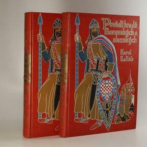 náhled knihy - Pověsti hradů moravských a slezských (2 svazky, komplet)