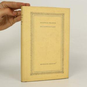 náhled knihy - Do lepších časů