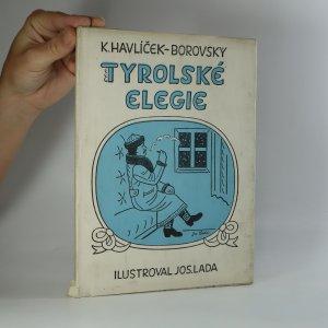 náhled knihy - Tyrolské elegie