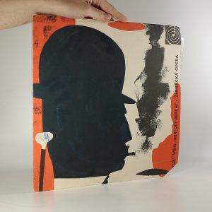 náhled knihy - Kurt Weill, Bertolt Brecht: Žebrácká Opera