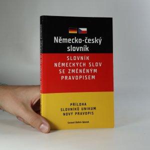 náhled knihy - Německo-český slovník. Slovník německých slov se změněným pravopisem