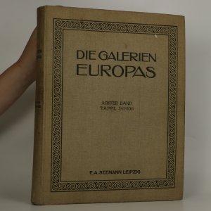 náhled knihy - Die Galerien Europas
