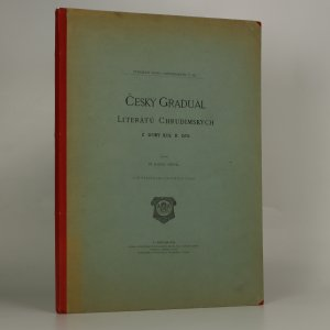 náhled knihy - Český Graduál literátů Chrudimských z doby kol r. 1570