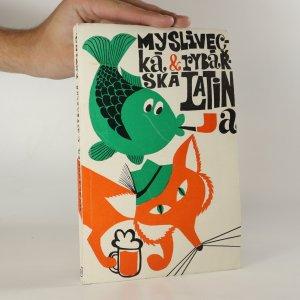 náhled knihy - Myslivecká a rybářská latina