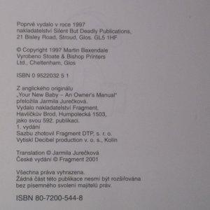 antikvární kniha Vaše nové miminko. Návod k obsluze, 2001