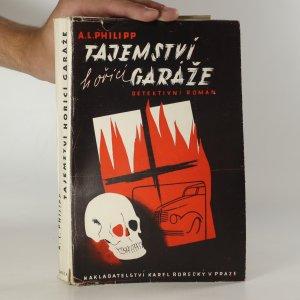 náhled knihy - Tajemství hořící garáže