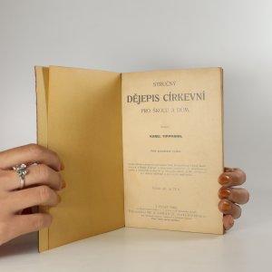náhled knihy - Stručný dějepis církevní pro školu i dům