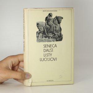náhled knihy - Další listy Luciliovi