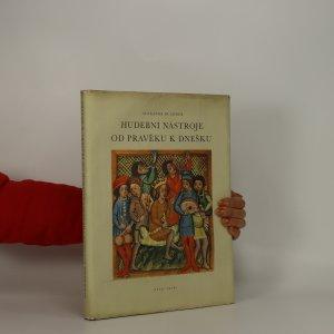 náhled knihy - Hudební nástroje od pravěku k dnešku