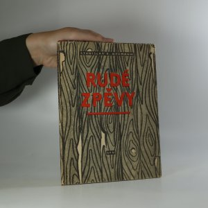 náhled knihy - Rude zpěvy