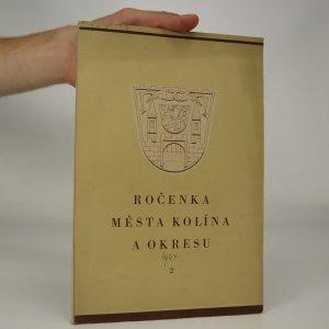 náhled knihy - Ročenka města Kolína a okresu II.