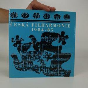 náhled knihy - Česká filharmonie 1984/85