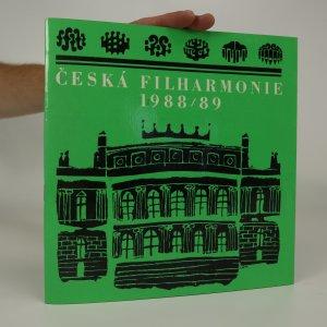 náhled knihy - Česká filharmonie 1988/89