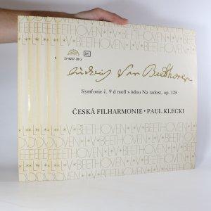 náhled knihy - Ludwig van Beethoven: Symfonie (viz poznámka, 5x LP)