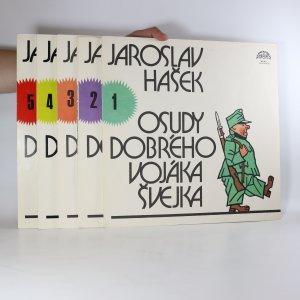 náhled knihy - Jaroslav Hašek: Osudy dobrého vojáka Švejka (I.-V. díl, 5xLP)