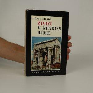 náhled knihy - Život v starom Ríme