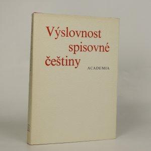 náhled knihy - Výslovnost spisovné češtiny