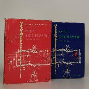 náhled knihy - Svět orchestru: Česká hudba. Světová hudba. (2 svazky)