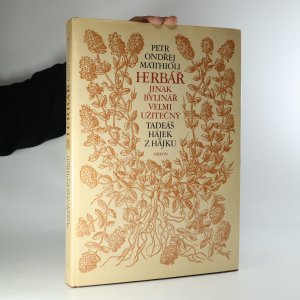 náhled knihy - Herbář, jinak Bylinář, velmi užitečný