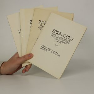náhled knihy - Zpravodaj dobrovolných aktivů státní památkové péče a ochrany přírody v Praze21-83, 22-84, 24-84, 25-84 (4 svazky)