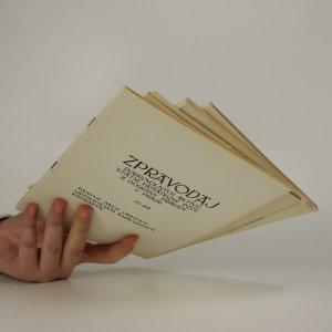 antikvární kniha Zpravodaj dobrovolných aktivů státní památkové péče a ochrany přírody v Praze21-83, 22-84, 24-84, 25-84 (4 svazky), 1983-1984