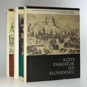 náhled knihy - Súpis pamiatok na Slovensku (ve 3 svazcích)
