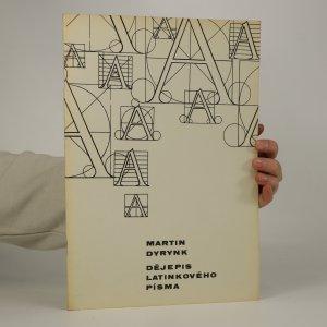 náhled knihy - Dějepis latinkového písma