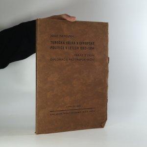 náhled knihy - Turecká válka v evropské politice v letech 1592-1594