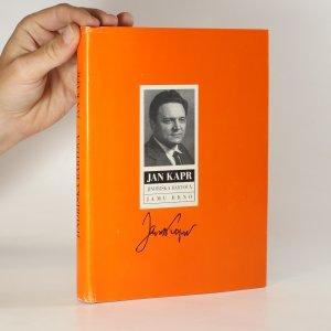 náhled knihy - Jan Kapr. Nástin života a díla