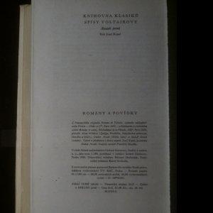 antikvární kniha Romány a povídky, 1960