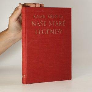 náhled knihy - Naše staré legendy a začátky našeho duchovního života