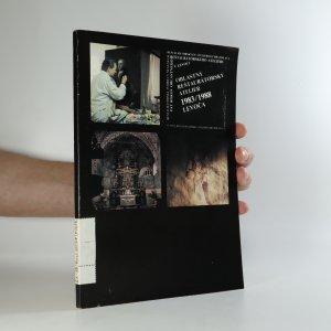náhled knihy - Oblastný reštaurátorský ateliér 1983/1998 Levoča
