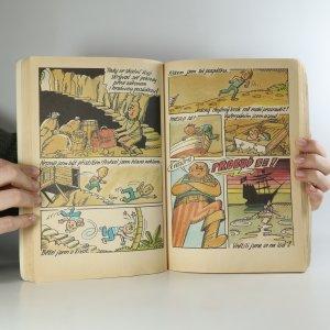 antikvární kniha Čtyřlístek. Jak se chodí do pohádky. Poklad kapitána Kida., 1988