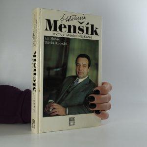 náhled knihy - Vladimír Menšík. Pocta Vladimíru Menšíkovi