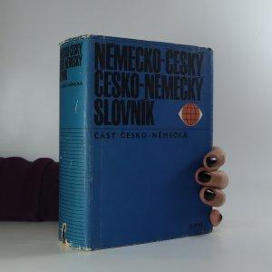 náhled knihy - Německo-český a česko-německý slovník. Česko-německá část