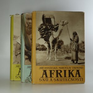 náhled knihy - Afrika snů a skutečnosti. 1.-3. díl. (3 díly ve 3 svazcích).