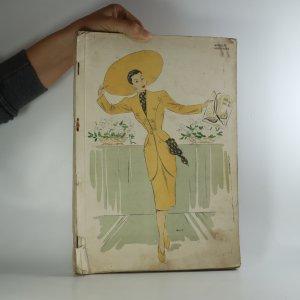 náhled knihy - Francouzský módní časopis. (nekompletní, viz poznámka).