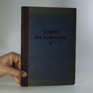 náhled knihy - Lehren des Judentums
