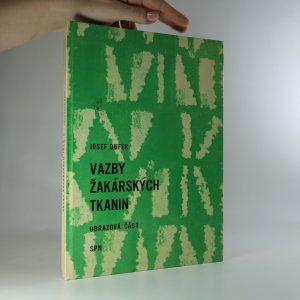 náhled knihy - Vazby žakárských tkanin. Obrazová část (schází textová část).