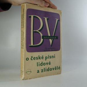 náhled knihy - O české písni lidové a zlidovělé