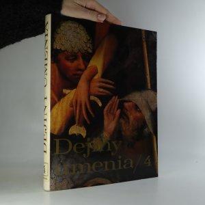 náhled knihy - Dejiny umenia. 4. díl.