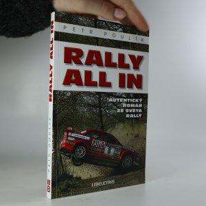 náhled knihy - Rally all in (asi podpis a věnování autora)