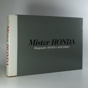 náhled knihy - Mister Honda. Biography Honda Soichiro.