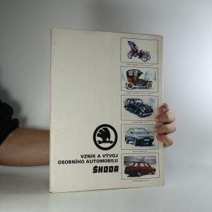 náhled knihy - Vznik a vývoj osobního automobilu Škoda (52 listů v deskách)