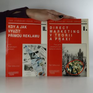 náhled knihy - Direct marketing v teorii a praxi. Kdy a jak využít přímou reklamu. (2 svazky, 1.díl podpis autora)