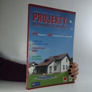 náhled knihy - Projekty rodinných domů 1/Jaro '99. Ročník III